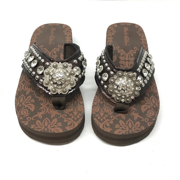 Rustic Couture Shoes - Rustic Couture Flip Flops Women's Size 6
